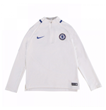2017-2018 Chelsea Nike Drill Training Top (White) - Kids