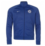 2017-2018 Chelsea Nike Core Pre-Match Jacket (Blue)