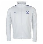 2017-2018 Chelsea Nike Authentic Track Jacket (Platinum)