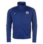 2017-2018 Chelsea Nike Authentic Track Jacket (Blue)