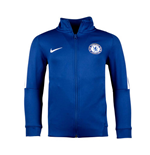 2017-2018 Chelsea Nike Authentic Franchise Jacket (Blue) - Kids