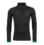 2017-2018 Celtic Midlayer Training Top (Black)
