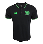 2017-2018 Celtic Elite Media Power Polo Shirt (Black)