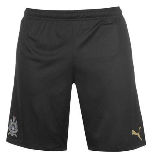 2017-2018 Newcastle Third Football Shorts (Black)