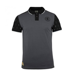 2017-2018 Union Berlin Macron Cotton Polo Shirt (Grey)