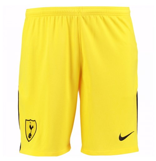 2017-2018 Tottenham Home Nike Goalkeeper Shorts (Yellow)
