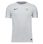 2017-2018 VFL Wolfsburg Nike Squad Training Shirt (Grey)