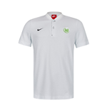 2017-2018 VFL Wolfsburg Nike Authentic Polo Shirt (Grey)