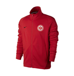 2017-2018 Eintracht Frankfurt Nike Authentic Franchise Jacket (Red)