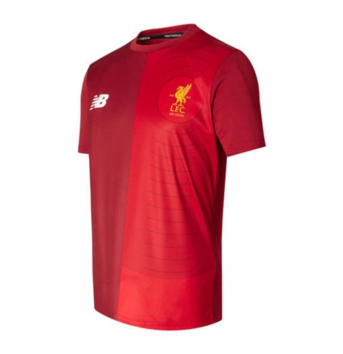 2017-2018 Liverpool Elite Pre-Match Training Shirt (Red) - Kids