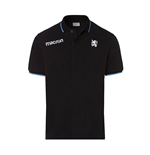 2017-2018 Munich 1860 Macron Cotton Polo Shirt (Black)
