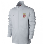 2017-2018 Monaco Nike Authentic Franchise Jacket (Pure Platinum)