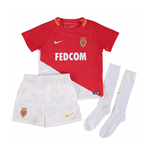 2017-2018 Monaco Home Nike Little Boys Mini Kit