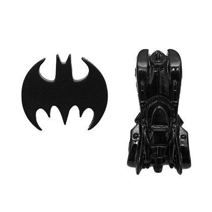 BATMAN and Batmobile Lapel Pin Set