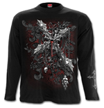 Cross Of Darkness - Longsleeve T-Shirt Black