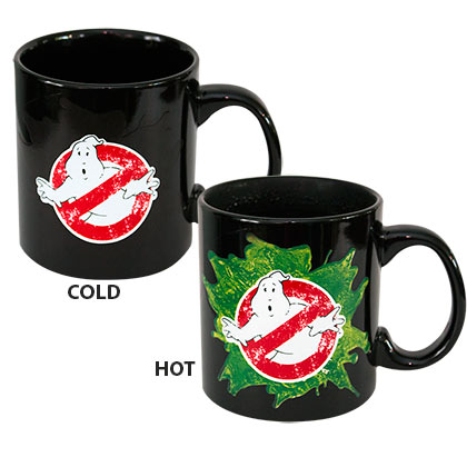 GHOSTBUSTERS Heat Reveal Coffee Mug