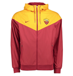 2017-2018 AS Roma Nike Authentic Windrunner Jacket (Team Red)