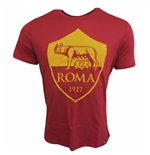2017-2018 AS Roma Nike Crest Tee (Red)