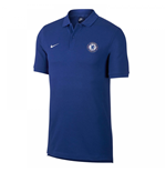 2017-2018 Chelsea Nike Core Polo Shirt (Blue)