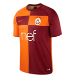 2017-2018 Galatasaray Home Nike Supporters Shirt (Kids)