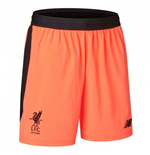 2017-2018 Liverpool Third Shorts (Orange) - Kids