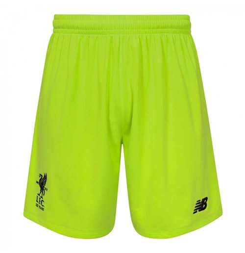 2017-2018 Liverpool Third Goalkeeper Shorts (Green)