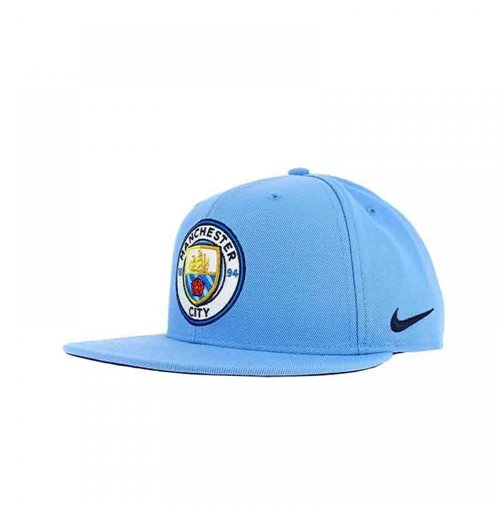 Buy Official 2017 2018 Man City Nike Adjustable Cap Blue