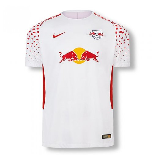 2017-2018 Red Bull Leipzig Home Nike Shirt (Kids)