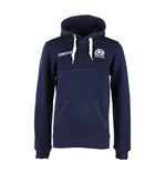 2017-2018 Scotland Macron Rugby Heavy Cotton Hoody (Navy)