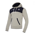 2017-2018 Scotland Macron Rugby Heavy Cotton Hoody (Grey)