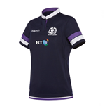 2017-2018 Scotland Macron Home Womens Poly Rugby Shirt