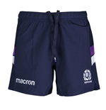 2017-2018 Scotland Macron Home Rugby Shorts (Navy) - Kids