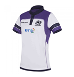 2017-2018 Scotland Macron Alternate Womens Poly Rugby Shirt