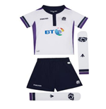2017-2018 Scotland Macron Alternate Rugby Mini Kit
