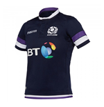 2017-2018 Scotland Home Replica Rugby Shirt (Kids)