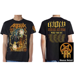 Anthrax Men's Tee: Evil Twin (with Back Print)
