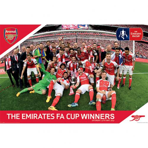 Arsenal F.C. Poster FA Cup Winners 4