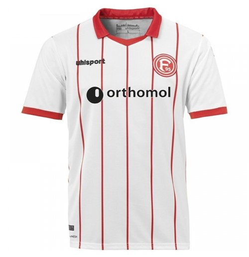 2017-2018 Fortuna Dusseldorf Uhlsport Home Shirt