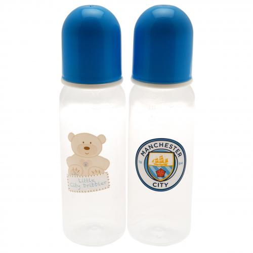 Manchester City F.C. 2pk Feeding Bottles