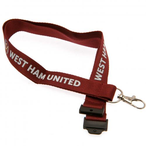 West Ham United F.C. Lanyard