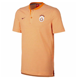 2017-2018 Galatasaray Nike Authentic Grand Slam Polo Shirt (Vivid Orange)