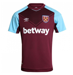 2017-2018 West Ham Home Football Shirt