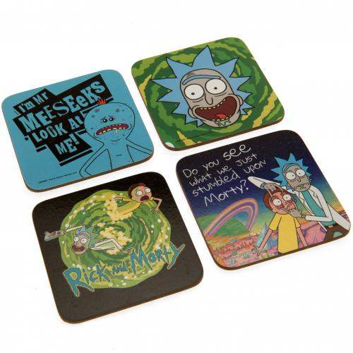 Rick And Morty Coaster Set