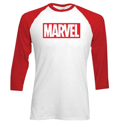 Marvel Comics Logo Long sleeves T-shirt
