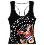 Ramones Ladies Tee Vest: 40th Seal