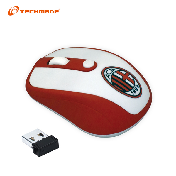 AC Milan Techmade Mouse Wirelessac Milan