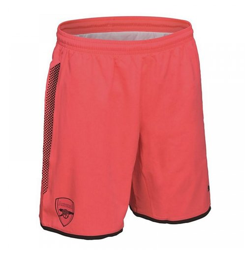 2017-2018 Arsenal Away Goalkeeper Shorts (Pink)