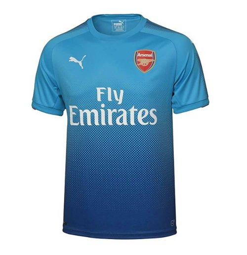 2017-2018 Arsenal Puma Away Football Shirt (Kids)