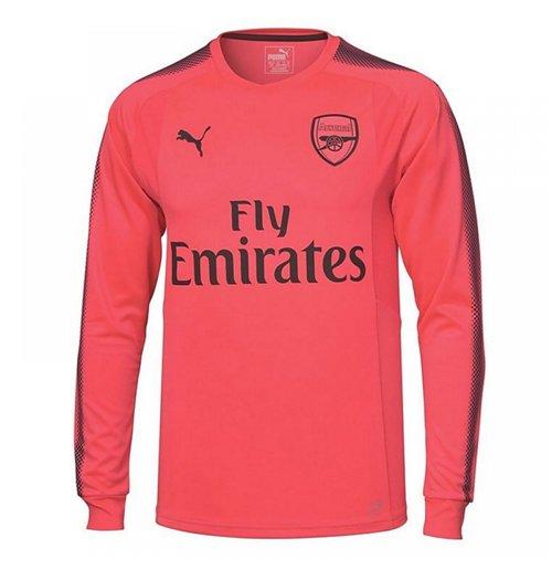 29be872e1d7 Buy 2017-2018 Arsenal Puma Away LS Goalkeeper Shirt (Pink) - Kids