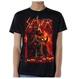 Slayer Men's Tee: Goat Skull